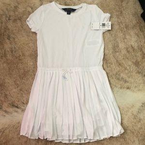 Ralph Lauren White T-shirt dress size 6